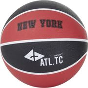 BALLON DE BASKET-BALL  Ballon de basket-ball New York - Taille 5 - Noir et rouge
