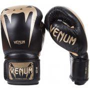 Gant de boxe Venum cuir Giant 3.0 noir gold Taille - 10oz