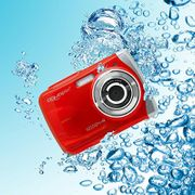 Appareil photo étanche W1024 Splash - Aquapix ROUGE