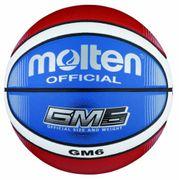 Molten BGMX6 C Ballon de basket Rouge/blanc/bleu Taille 6 2017