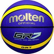 Molten BGR7 GK Ballon de basket 2017 Sélection couleur - Vert/Noir