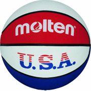Molten Ballon de basket pour l entraànement aux couleurs des Etats Unis Couleurs bleu/blanc/rouge Taille 3 2017 Sélection couleur - bleu/blanc/rouge