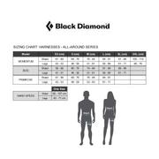 Harnais Black Diamond Momentum bleu rouge + kit escalade femme