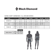 Harnais Momentum DS Black Diamond coloris Smoke/Powell blue taille XS-M