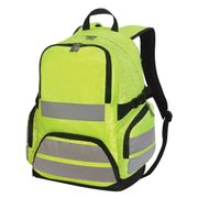 Sac à dos haute visibilité - sécurité - 7702 - jaune fluo