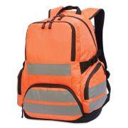 Sac à dos haute visibilité - sécurité - 7702 - orange fluo
