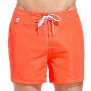 Short de Bain Homme Sundek 502 Orange Fluo