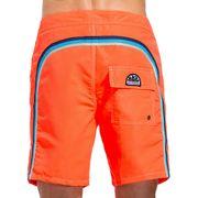 Short de Bain Homme Sundek 503 Orange Fluo