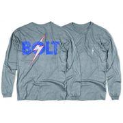 L.BOLT OG Bolt LS Pocket Tee  light grey