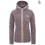 The North Face W Nikster Full Zip H Rabbit Grey Heather XS