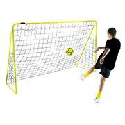 Kickmaster Cage de foot pour enfant Jaune 2,4 m