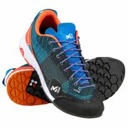 Chaussures AMURI M Electric Blue/Orange - Homme - Escalade, Approche