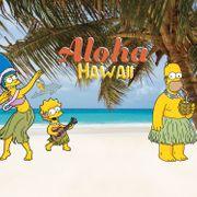 No Publik - Lot De 3 Boxers Homme Simpson Hawaii