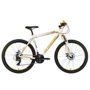 VTT semi-rigide 27,5'' Compound blanc-orange TC 51 cm KS Cycling
