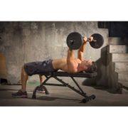 Iron Gym Adjustable Curl Bar Set 140 Cm