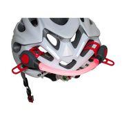 Eclairage arrière pour casque vélo à piles