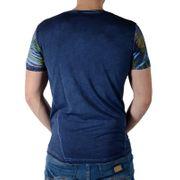 Tee Shirt Japan Ragss Lif Bleu Indigo Dark
