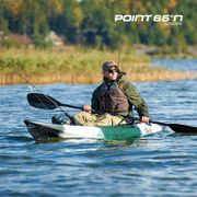Kayak modulable spécial pêche - TEQUILA GTX Angler solo (seat on top 1 place) - vert camo