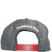 Chicago Bulls Homme Snapback Basketball Gris Mitchell & Ness