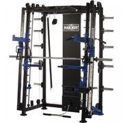 Gorilla Sports - MAXXUS Multipresse 10.1 Smith machine avec banc de musculation