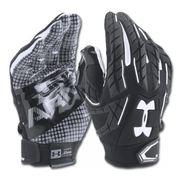 Gants de football américain Under Armour Fierce VI pour Running Back Noir taille - XL