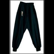 Pantalon de kung fu bas serré noir Taille - 130cm