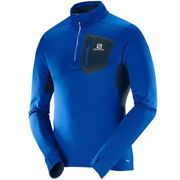 SALOMON Trail Runner Warm Sweat 1/2 Zip Homme