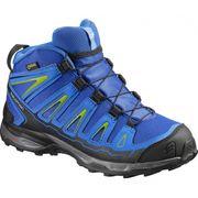 Salomon - X-Ultra Mid GTX chaussures de randonnée pour enfants (bleu/noir)