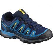 Salomon - X-Ultra GTX chaussures de randonnée pour enfants (bleu clair/bleu foncé)