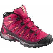 Salomon - X-Ultra Mid GTX® Enfants chaussures de randonnée (rose)
