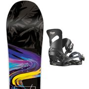 SALOMON Wonder Snow + Mirage Fixations Femme