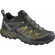 Salomon - X Ultra 3 GTX® Hommes chaussures de randonnée (gris foncé/vert foncé)