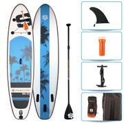 Pack Stand Up Paddle gonflable 10'6 - UGAL SIMPLE PADDLE 10'6 (315 cm) x 30'' (76 cm) x 6