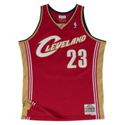 Maillot Basketball Mitchell & Ness Cleveland Cavaliers HWC Swingman Lebron James Rouge