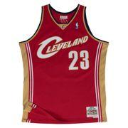 Maillot Basketball Mitchell & Ness Cleveland Cavaliers HWC Swingman Lebron James Rouge