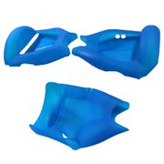 Housse en silicone protection intégrale Bleu Gyropode Hoverboard