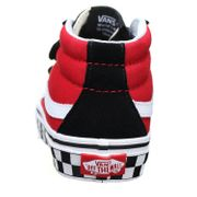 Basket garçon Vans Sk8-mid Reissue V Vn0a348jv Black/white