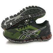 Asics Gel Quantum 360 Knit noir, chaussures de running homme