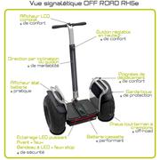Gyropode électrique (batterie lithium-ion) OFF ROAD RX5e BEEPER