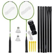 KIT BADMINTON - PACK BADMINTON - ENSEMBLE BADMINTON  Set de badminton Garden Gs - Vert et noir