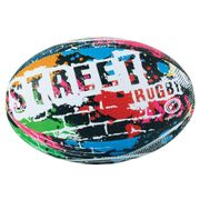 Optimum Street Rugby League Union Ball - Multicolour