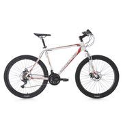 VTT semi-rigide 26'' Sharp blanc-rouge TC 51 cm KS Cycling