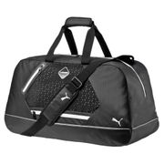 Puma evoPOWER Premium Medium Sports Duffel Bag Black/ White
