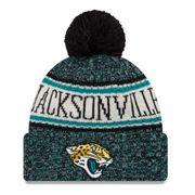 Bonnet avec pompon Jacksonville Jaguars NFL sport knit doublé polaire