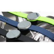 Bracelet connecté élégance couleur - Vert clair