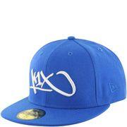 Casquette de Basket bleu K1X at large tag 59fifty bleu/blanc taille casquette - 7 (55.8cm)