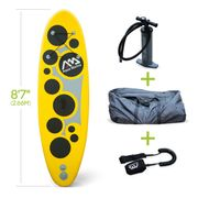 VIBRANT - Youth inflatable stand-up paddle board with coil leash incl