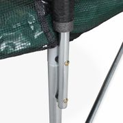 Trampoline rond Neptune Ø 460cm vert avec son filet de protection - Trampoline de jardin  460 cm 4m| Qualité PRO|Normes EU
