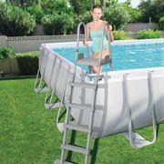 Bestway Échelle de sécurité pour piscine avec cadre en acier 58332