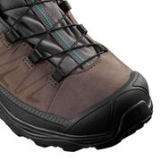 Chaussures Salomon X Ultra 3 Ltr GTX noir marron turquoise femme